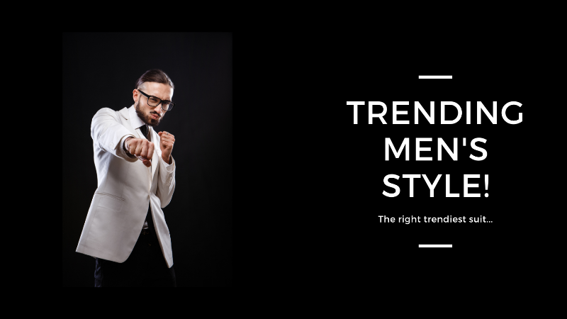 the trendiest suit for men styling tips by gangtokian